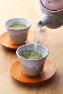 日本茶の写真素材 [FYI02834268]
