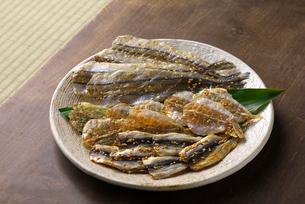 小魚味醂干の写真素材 [FYI02834309]