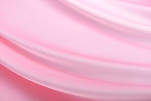 ピンクのドレープの写真素材 [FYI02834324]