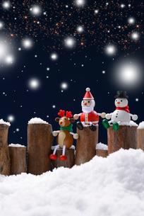 クリスマスイメージの写真素材 [FYI02834329]