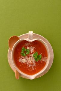 トマトスープの写真素材 [FYI02834382]