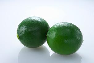緑のレモンの写真素材 [FYI02834392]