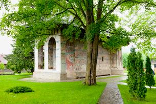 フモール修道院の写真素材 [FYI02834431]