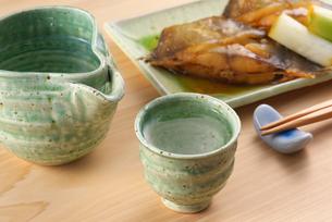 日本酒の写真素材 [FYI02834488]