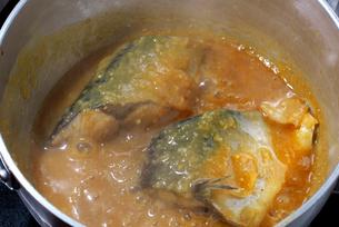 鯖の味噌煮の写真素材 [FYI02834491]