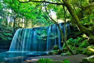 鍋ヶ滝の写真素材 [FYI02834616]