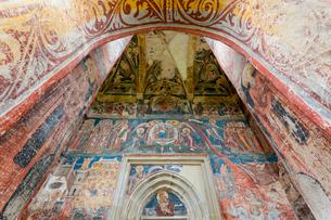 モルドヴィツァ修道院の写真素材 [FYI02834671]