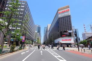 有楽町駅前の写真素材 [FYI02834965]