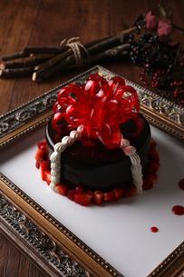 バースデーケーキの写真素材 [FYI02834985]