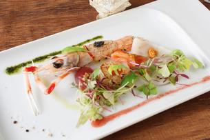 魚料理の写真素材 [FYI02835000]
