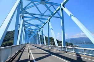 安芸灘とびしま海道 蒲刈大橋から見た安芸灘大橋の写真素材 [FYI02835089]