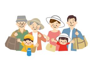 家族旅行のイラスト素材 [FYI02835122]