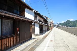 安芸灘とびしま海道 御手洗の古い町並みの写真素材 [FYI02835150]