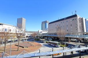 川崎駅西口の写真素材 [FYI02835177]