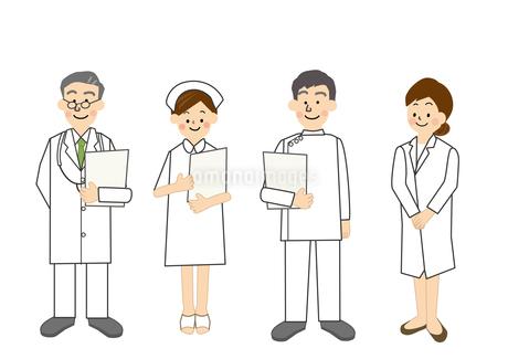 医師 看護師のイラスト素材 [FYI02835195]