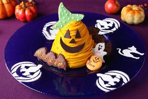 ハロウィンケーキの写真素材 [FYI02835340]