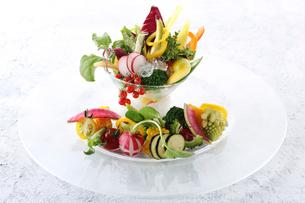 スティック野菜の盛り合わせの写真素材 [FYI02835398]