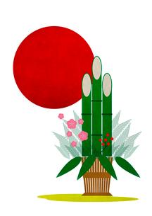 門松のイラスト素材 [FYI02835870]