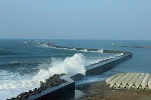 新潟西港の写真素材 [FYI02836117]