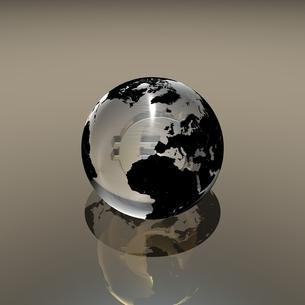 ガラスの地球に入るユーロのイラスト素材 [FYI02836182]