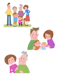 健康家族のイラスト素材 [FYI02836417]