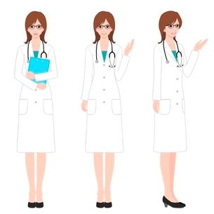 女医のイラスト素材 [FYI02836526]