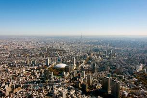 東京スカイツリーと東京ドームの写真素材 [FYI02836533]