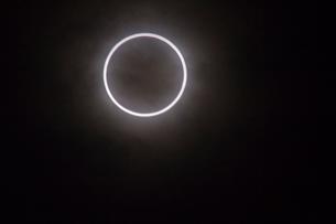 金環日食の写真素材 [FYI02836535]