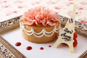 バースデーケーキの写真素材 [FYI02836602]