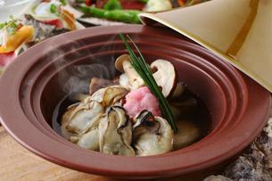 牡蠣鍋の写真素材 [FYI02836701]