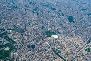東京ドーム周辺の空撮の写真素材 [FYI02836780]