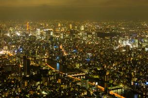 東京都心夜景の写真素材 [FYI02836792]