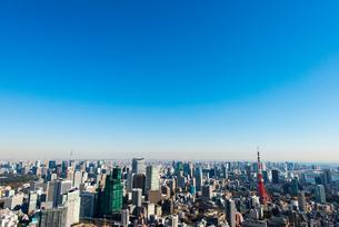 東京スカイツリーと東京タワーの写真素材 [FYI02836800]