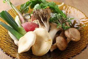 鍋具材用野菜の写真素材 [FYI02836872]