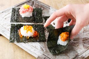 巻寿司イメージの写真素材 [FYI02836943]
