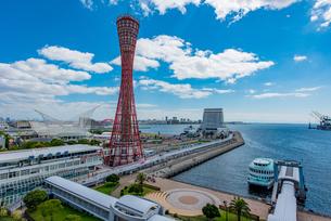 神戸港の昼景の写真素材 [FYI02837208]