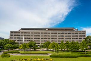 福岡県庁(全体)の写真素材 [FYI02837337]