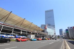 東京駅八重洲口前の写真素材 [FYI02837461]