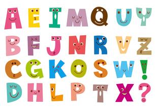 アルファベット表のイラスト素材 [FYI02837489]