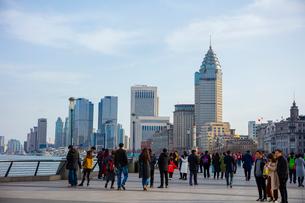 上海の風景の写真素材 [FYI02837539]