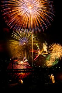 第27回東京湾大華火祭(2015年)の写真素材 [FYI02837572]