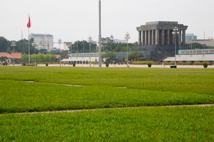 ホー・チ・ミン廟の写真素材 [FYI02837600]
