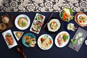 中華前菜集合の写真素材 [FYI02837604]