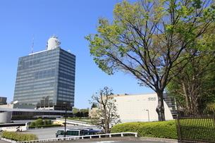 NHK放送センターの写真素材 [FYI02837823]