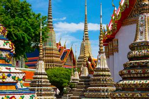 ワット・ポーの仏塔の写真素材 [FYI02838269]