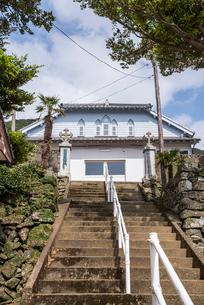 上五島の江袋教会の写真素材 [FYI02838503]