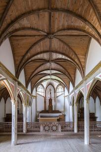 旧五輪教会堂内部風景の写真素材 [FYI02838541]