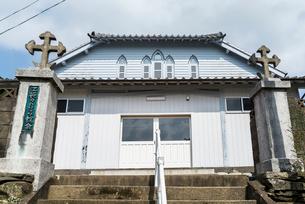 上五島の江袋教会の写真素材 [FYI02838553]