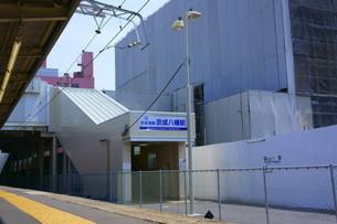 京成八幡駅の写真素材 [FYI02838719]