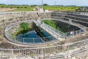 宮古島の地下ダム資料館水位観測施設の写真素材 [FYI02838830]